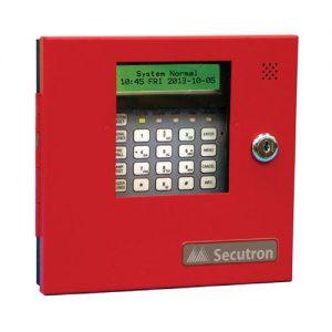 annunciator fire alarm secutron