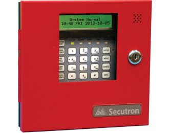 Secutron MR-2300-LCDR 3 Loop Annunciator Panel (Addressable)