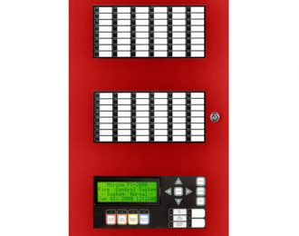 Secutron RAXN-LCD 5 Loop Annunciator Panel (Addressable)