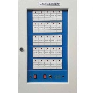 Hooseki Fire Alarm Annunciator Panel 5 zone AN-5L